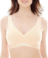 JCPenney Ambrielle Natural Comfort Unlined Wirefree Bra