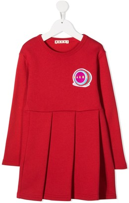 Marni Logo Sweater Dress