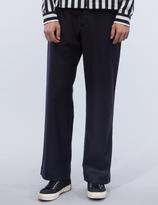 YMC Thin White Duke Trousers