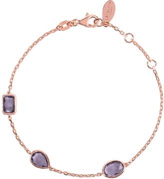 Latelita Venice Bracelet Rosegold Amethyst