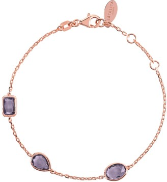 Rosegold Venice Bracelet Amethyst