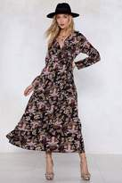 Nasty Gal One Floral You Maxi Dress