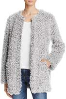 Aqua Teddy Bear Faux Fur Coat - 100% Exclusive