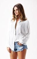 Blu Moon Western Fringe Shirt
