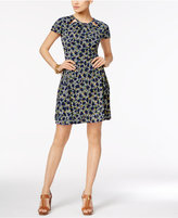 MICHAEL Michael Kors Hayden Printed Fit & Flare Dress