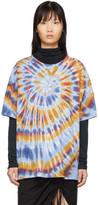Raquel Allegra Multicolor Oversized Tie-Dye T-Shirt