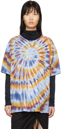 Raquel Allegra Multicolor Oversized Tie-Dye T-Shirt