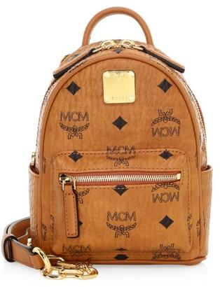 MCM Essential Visetos Original Crossbody Backpack