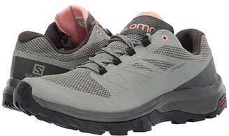 Salomon Outline GTX(r) (Shadow/Urban Chic/Coral Almond) Women's Shoes