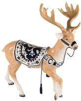 Fitz & Floyd Hand Painted Bristol Holiday Deer Figurine