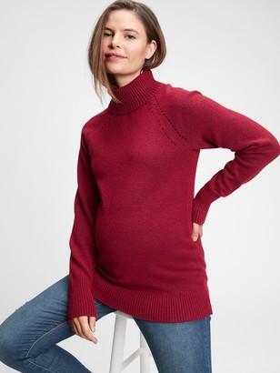 Gap Maternity Brushed Cozy Turtleneck Sweater