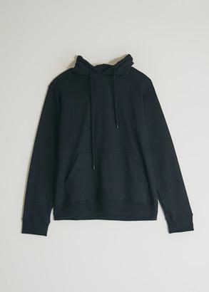 NEED Women's Dye Hooded Sweatshirt in Black, Size Extra Small   100% Cotton