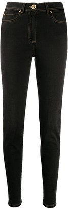 Versace High Rise Skinny Jeans