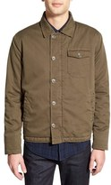 Velvet by Graham & Spencer Men's 'Rebel' Trim Fit Fleece Lined Shirt Jacket