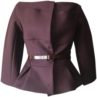 Christian Dior Purple Wool Jackets