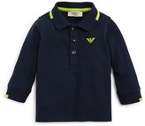 Armani Junior Armani Boys' Color Tipped Polo Shirt - Sizes 12-36 Months