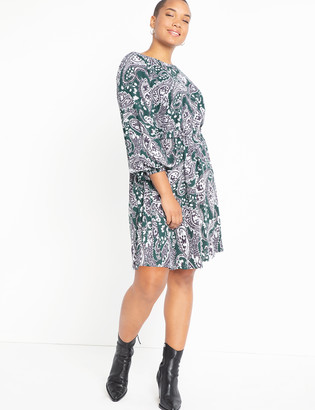 ELOQUII Easy Dress with Tie