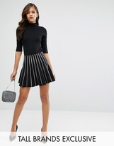 Y.A.S Tall Somain Knitted Contrast Stripe Skirt Co-Ord