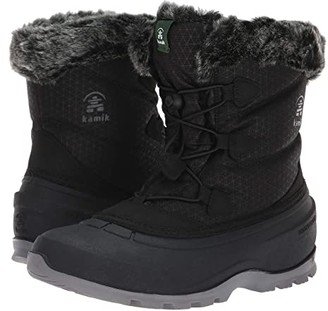 Kamik MomentumLo (Black) Women's Cold Weather Boots