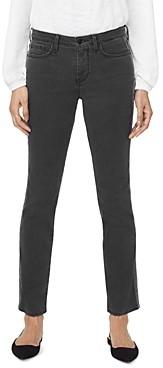 NYDJ Sheri Slim Jeans in Black Side Stripe
