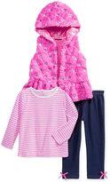 Nannette 3-Pc. Vest, Shirt & Leggings Set, Toddler & Little Girls (2T-6X)