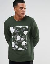 Asos Sweatshirt With Floral Print