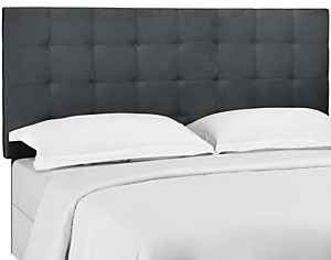 Modway Paisley Tufted Upholstered Performance Velvet Headboard, Twin