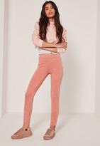 Missguided Full Length Legging Pink