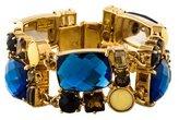 Kate Spade Geometric Crystal & Resin Bracelet