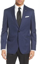 Ted Baker Men's Jed Trim Fit Print Wool & Cotton Sport Coat