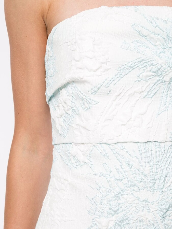 Thumbnail for your product : Bambah Floral Strapless Dress