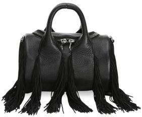 Alexander Wang Mini Rockie Fringe Soft Pebble Leather Handbag
