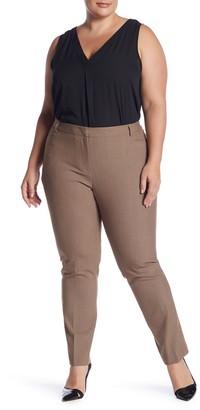 Amanda & Chelsea Sharkskin Welt Pocket Pants (Plus Size)
