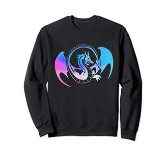 Dragon Optical Galaxy Tribal design Sweatshirt