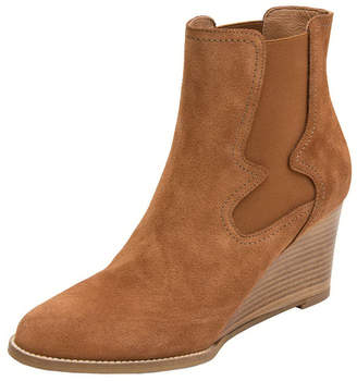 Andre Assous Palmer Suede Wedge Booties