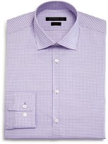 John Varvatos Small Shadow Window Check Slim Fit Dress Shirt