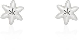 Tane Cactus Seed Earrings In Sterling Silver