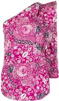 Etoile Isabel Marant Carina one-shoulder blouse