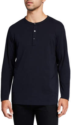 Theory Men's Clean Relaxed Henley Shirt
