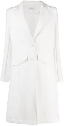 Patrizia Pepe Tailored Single-Breasted Coat