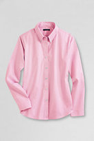 Classic Women's Long Sleeve No Iron Pinpoint-Light Pink