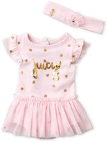 Juicy Couture Newborn/Infant Girls) Tutu Bodysuit