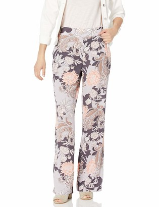 Nine West Women's Flare Bottom Printed Pant