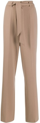 Cambio Belted Tailored Trousers