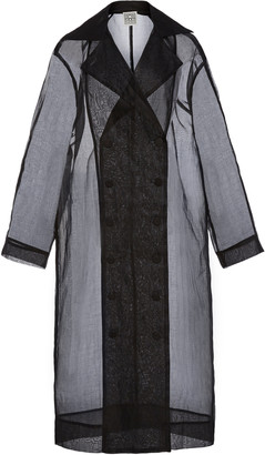 Totême Pisa Organza Cotton Trench Coat