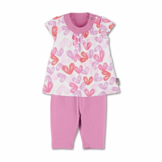 Sterntaler Baby Girls' Tunic with Capri Leggings Dress