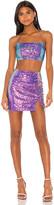 superdown Tabbie Sequin Skirt Set