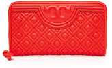 Tory Burch Fleming Zip Continetal Wallet