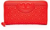 Tory Burch Fleming Zip Continetal Wallet