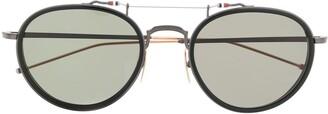 Thom Browne Eyewear Pantos round-frame sunglasses